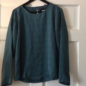 Reformation Silk Blouse Large